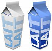 Lait Carton - Milk Carton