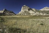 picture of rocking  - Scotts Bluff National Monument is located in western Nebraska - JPG
