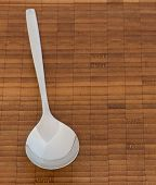 Spoon On A Wooden Surface