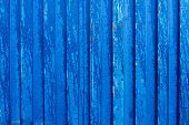 Cargo blue container background