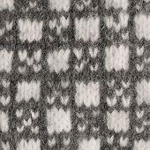 Gray mitten background grey white textured woolen mittens pattern knitted warm wool winter