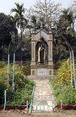 KOLKATA, INDIA - FEBRUARY 10: Saint Teresa, Loreto Convent where Mother Teresa lived before the founding of the Missionaries of Charity in Kolkata, India on February 10, 2014.