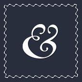 foto of ampersand  - Custom ampersand symbol for wedding invitation decoration - JPG