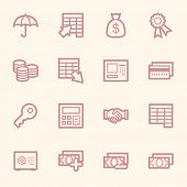 pic of internet-banking  - Finance and Banking icons - JPG