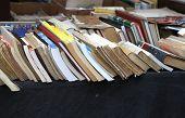 foto of vintage antique book  - antique shop - JPG