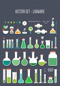 picture of chemical reaction  - Vector set  - JPG