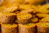 picture of baklava  - Turkish sweet baklava also well known in middle east.