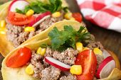 picture of tacos  - Mexican food Taco - JPG
