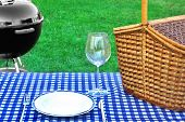 pic of barbecue grill  - Summer Grill Party Concept - JPG