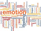 stock photo of feelings emotions  - Background text pattern concept wordcloud illustration of emotion feelings - JPG