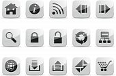 Navigation And Network Icon set