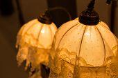 image of lamp shade  - Vintage lamps - JPG