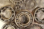 picture of bearings  - ball - JPG