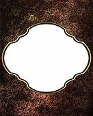 pic of nameplates  - Abstract metallic background with nameplate - JPG