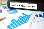 picture of market segmentation  - Folder with the label market segmentation and charts - JPG