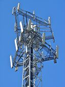 Antenna In Blue Sky 4