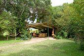 Masai Mara Camp lounge