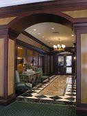 Luxury Hotel Spa Corridor