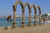 The Four Arches In Puerto Vallarta
