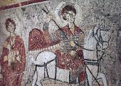 Cave Painting Goreme Turkey