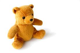stock photo of stuffed animals  - teddy bear over - JPG
