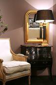 Elegant Living Corner