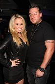 LOS ANGELES - JUN 4:  Tiffany Thornton, Chris Carney at the Darnell Appling Birthday Celebration hos