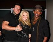 LOS ANGELES - JUN 4:  Chris Carney, Tiffany Thornton, guest at the Darnell Appling Birthday Celebrat