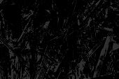 Monochrome Abstract Vector Grunge Texture. Gray And Black Illustration. Sketch Abstract To Create Di poster