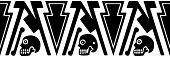 Ornament - Aztec Motifs - Vector