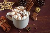 Hot Chocolate For Christmas poster