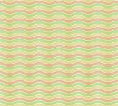 Seamless pattern with color wavy lines