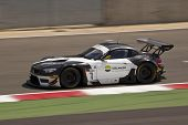 SILVERSTONE, ENGLAND - JUNE 4: Driver Casba Walter with Claudia Huertgen compete for Schubert Motors