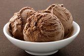 Delicious Gourmet Chocolate Ice Cream,