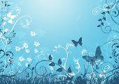 Bluefloralgrunge3 Copy