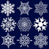 Nine More Fabulous Original Snowflakes