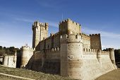 La Mota - castillo viejo en Medina Del Campo, España