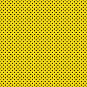 Seamless Black Dots on Yellow