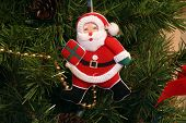 Santa Claus Christmas Tree Ornament