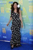 LOS ANGELES - 7 de AUG: Maria Canals-Barrera llega en los Teen Choice Awards 2011, celebrada en Gibson Amph