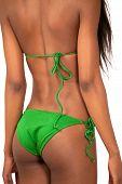 Bikini Girl Rear View