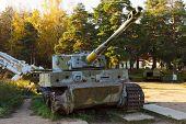 PzKpfw VI Tiger destroyed tank