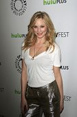 LOS ANGELES, CA - MARCH 10: Candice Accola at The Paley Center For Media's PaleyFest 2012 honoring '