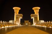Gates near the egyptian hotel