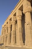 The Temple Of Isis At Philae Island. Near The Town Of Aswan( Egypt)