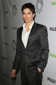 LOS ANGELES, CA - MARCH 10: Ian Somerhalder at The Paley Center For Media's PaleyFest 2012 honoring 'Vampire Diaries' at the Saban Theater on March 10, 2012 in Beverly Hills, California