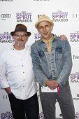 SANTA MONICA, CA - FEB 25: Bill Weber, David Weissman at the 2012 Film Independent Spirit Awards on February 25, 2012 in Santa Monica, California