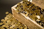 pic of treasure chest  - Old treasure  - JPG