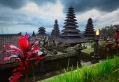 Balinese temple Pura Besakih. Bali Indonesia