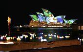 Sydney Opera House Lights, Australia